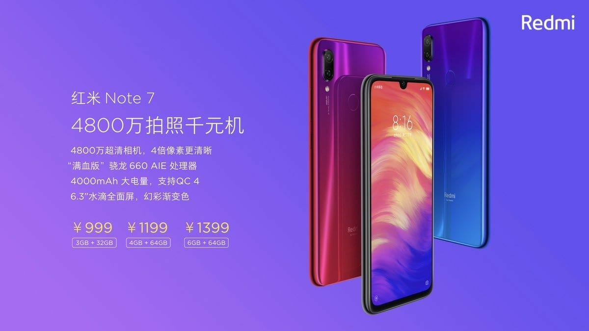 Dwh 7v XgAI2oq6 - Redmi Note 7 Specs and Price Revealed, Releasing Soon with Huge 48MP + 5MP Dual Rear Cameras