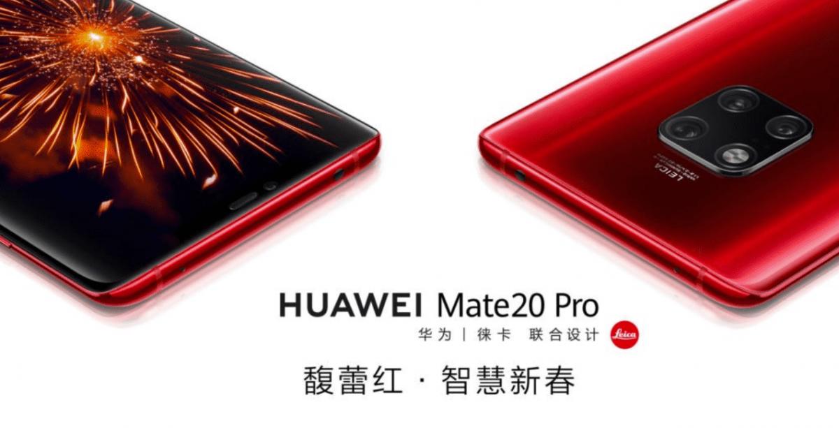 Mate 20 Pro Color Variants