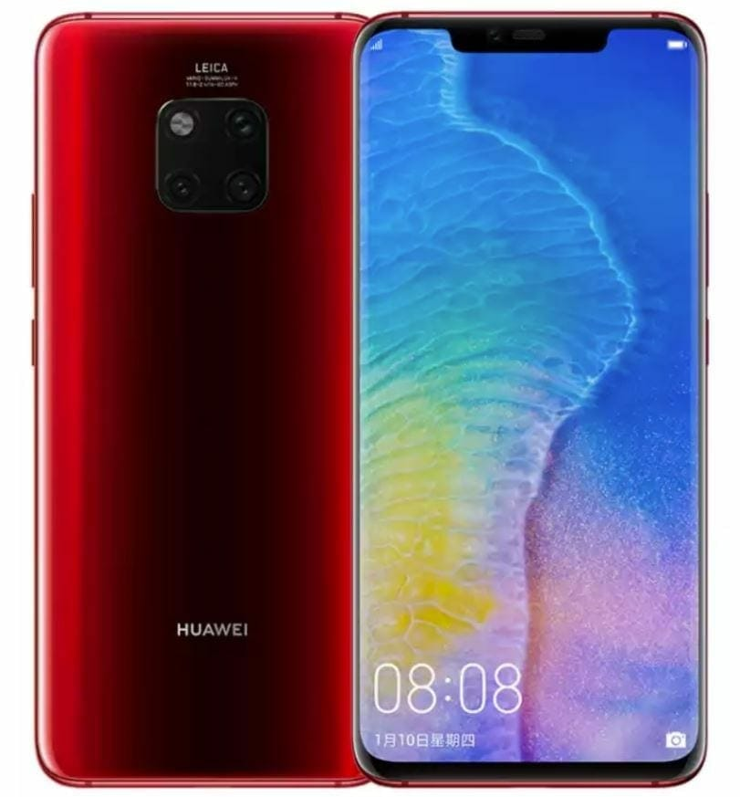 Mate 20 Pro Color Variants