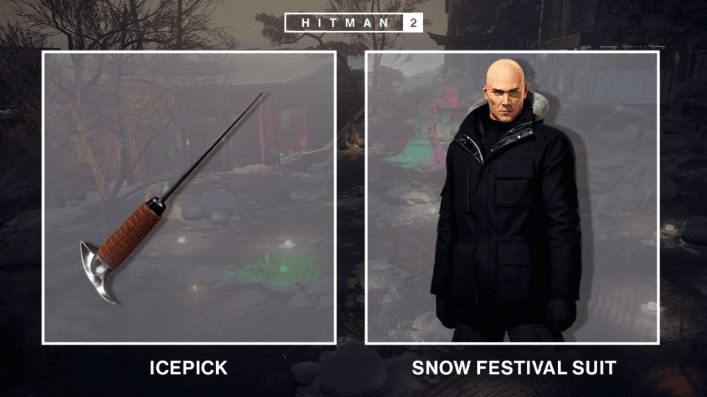 Free Hitman 2 Level Snow Festival