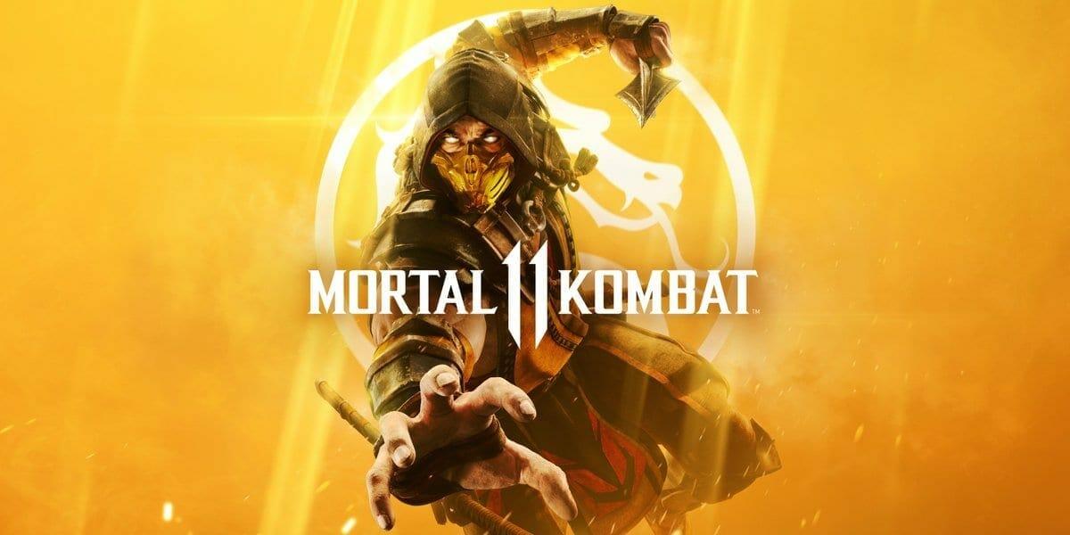 Mortal Kombat 11 Official Cover
