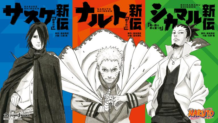 Naruto Shinden Novel