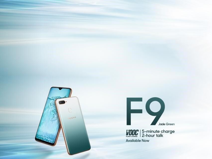 Oppo F9 Jade Edition