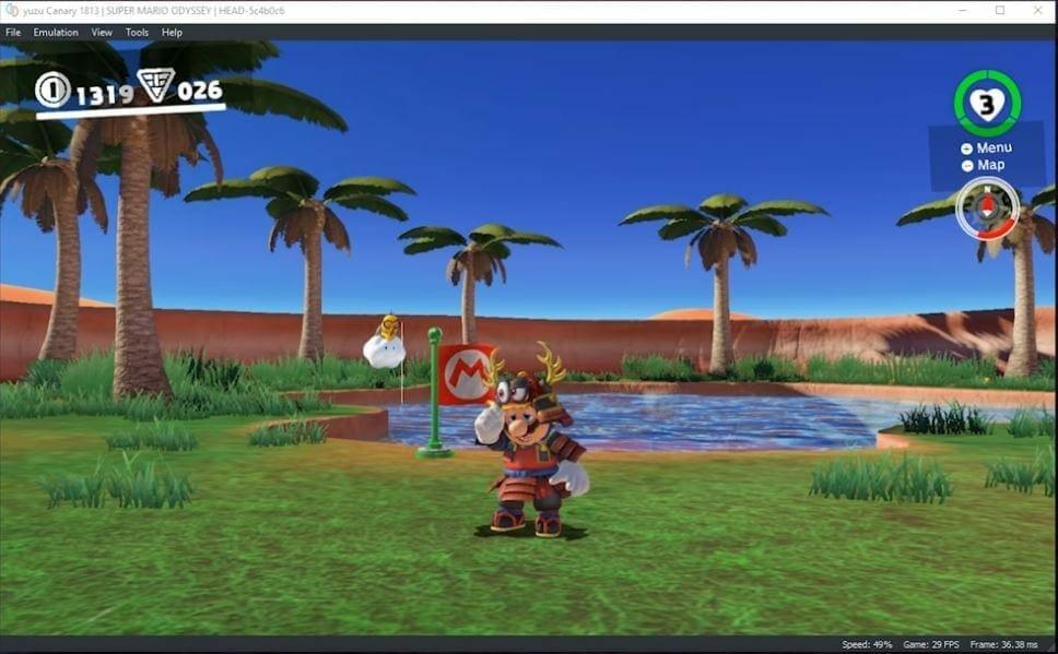 Nintendo Switch Emulator Yuzu