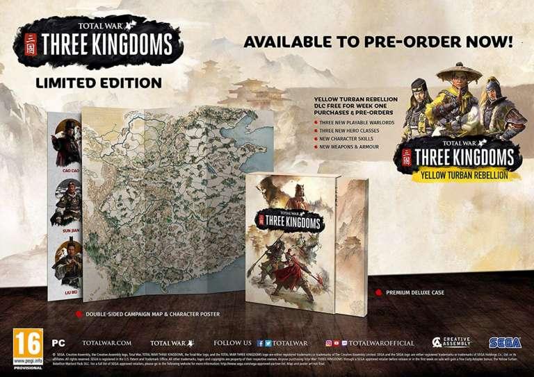 Total War: Three Kingdoms Editions
