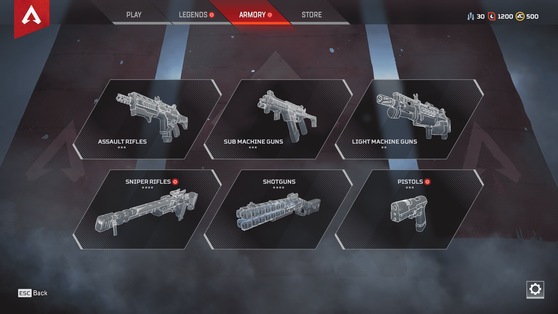 Apex Legends Weapons TTK