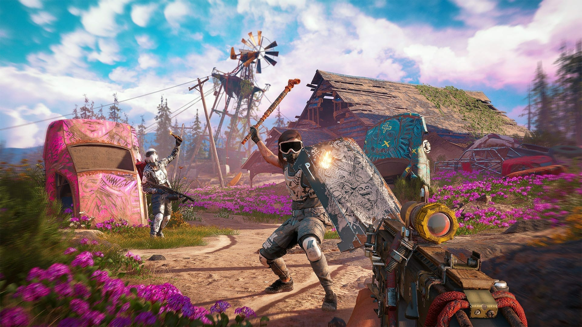 Far Cry New Dawn Cracked