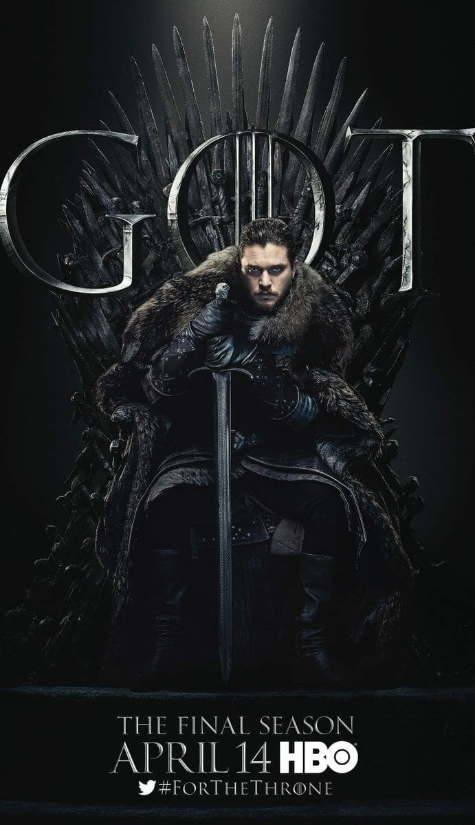 Game Of Thrones Season 8 Characters Posters Released By Hbo