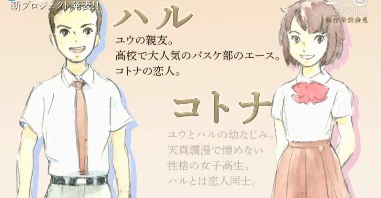 Ni no Kuni Characters