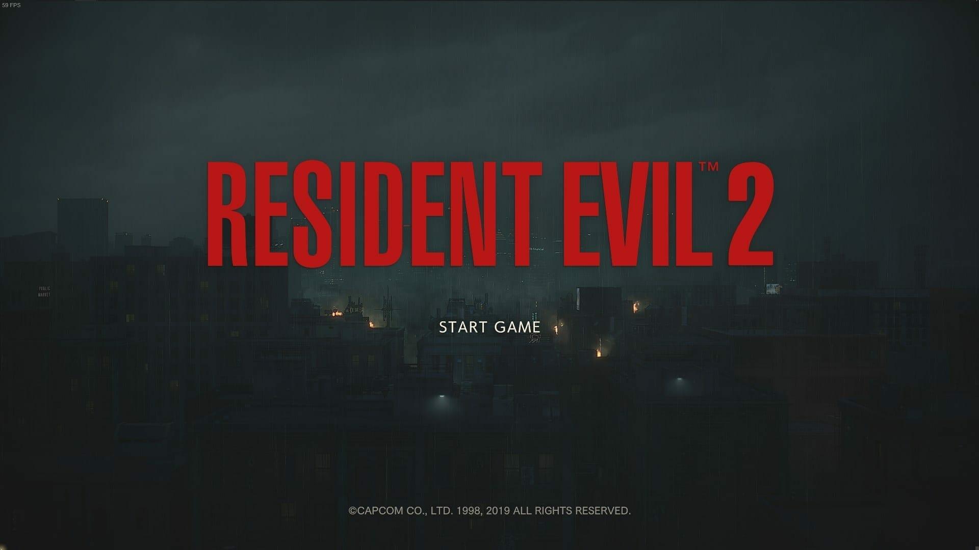Resident Evil 2 Classic UI Mod