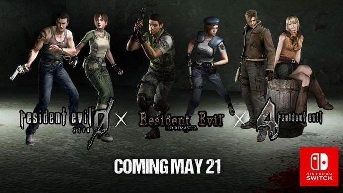 Resident Evil Games for Nintendo Switch