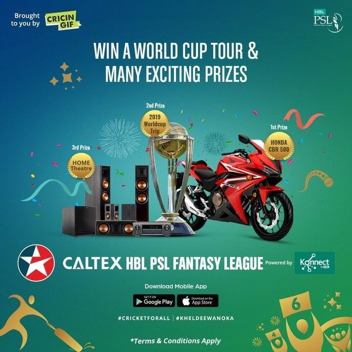 Caltex HBL PSL Fantasy League