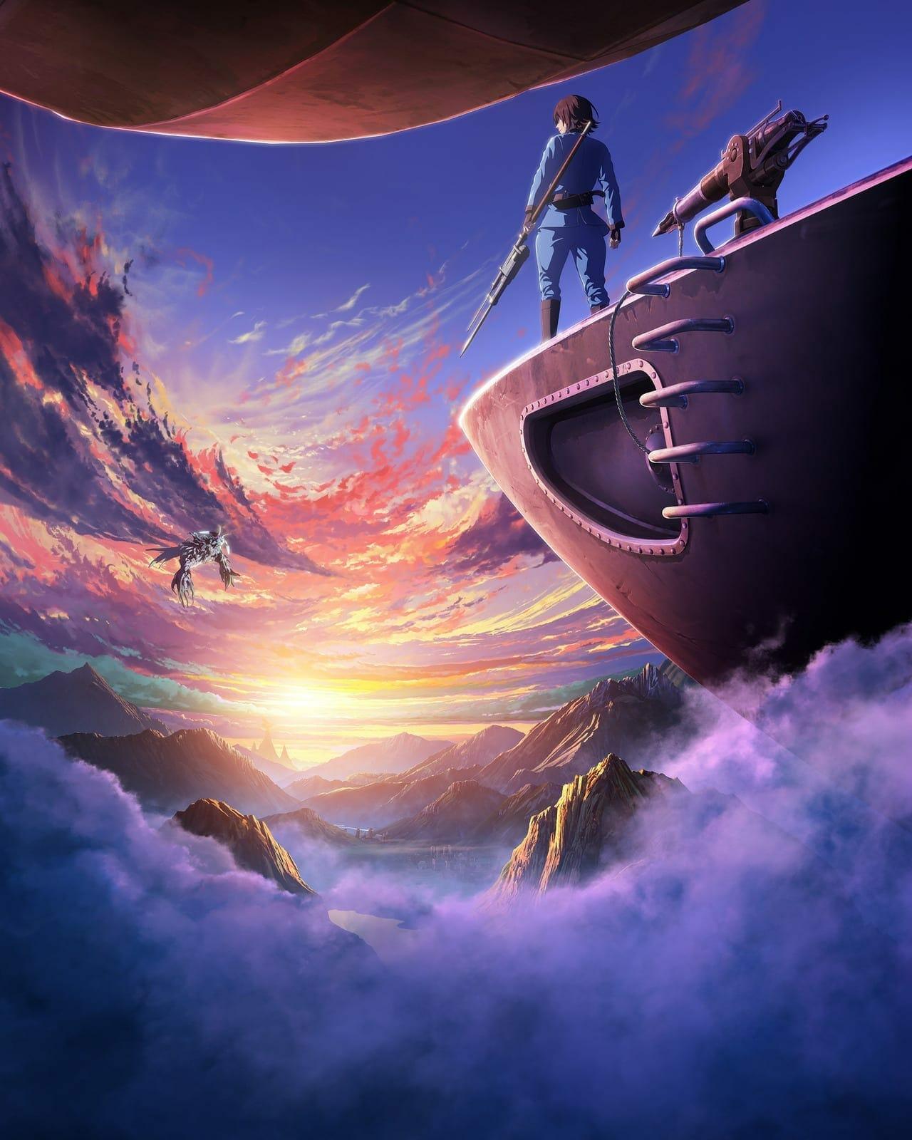 Drifting Dragons key visual