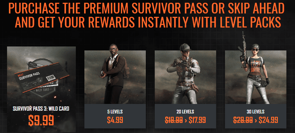Pubg Survivor Pass 3 Wild Card Now Available On Steam
