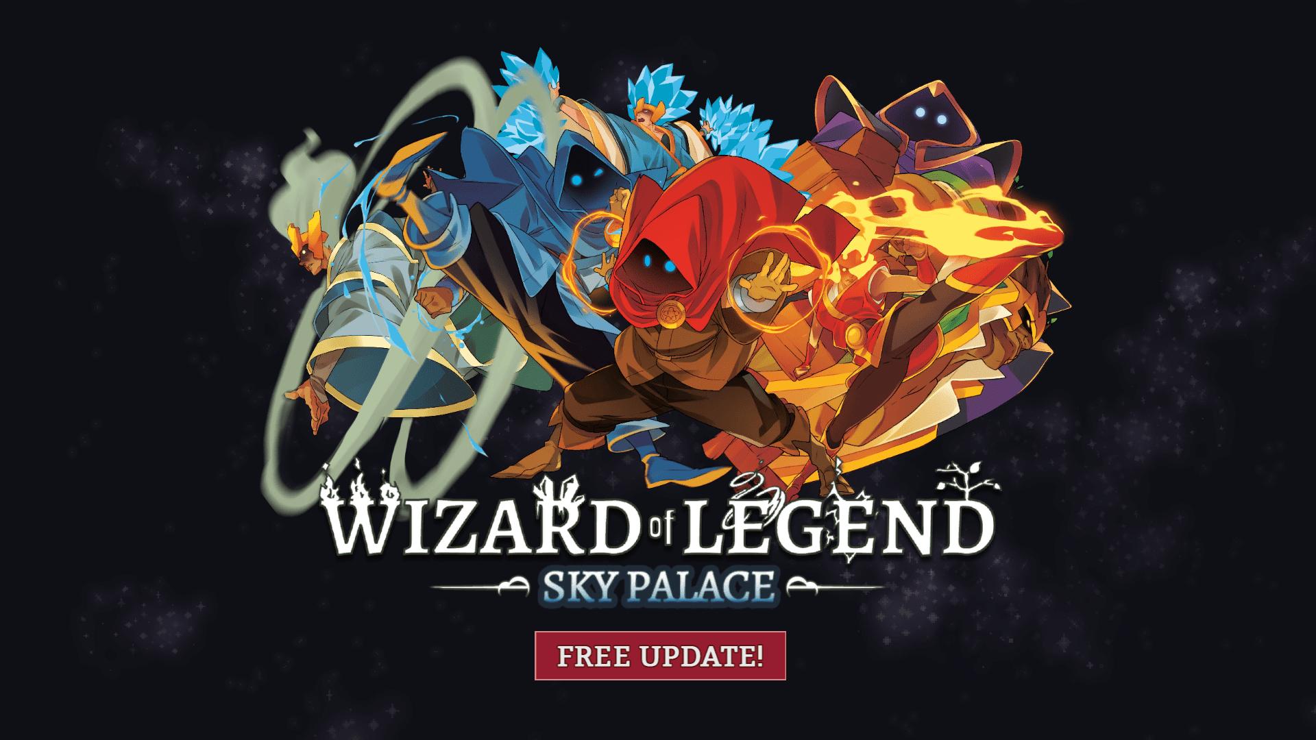 Wizard of Legend Sky Palace Update v1.1
