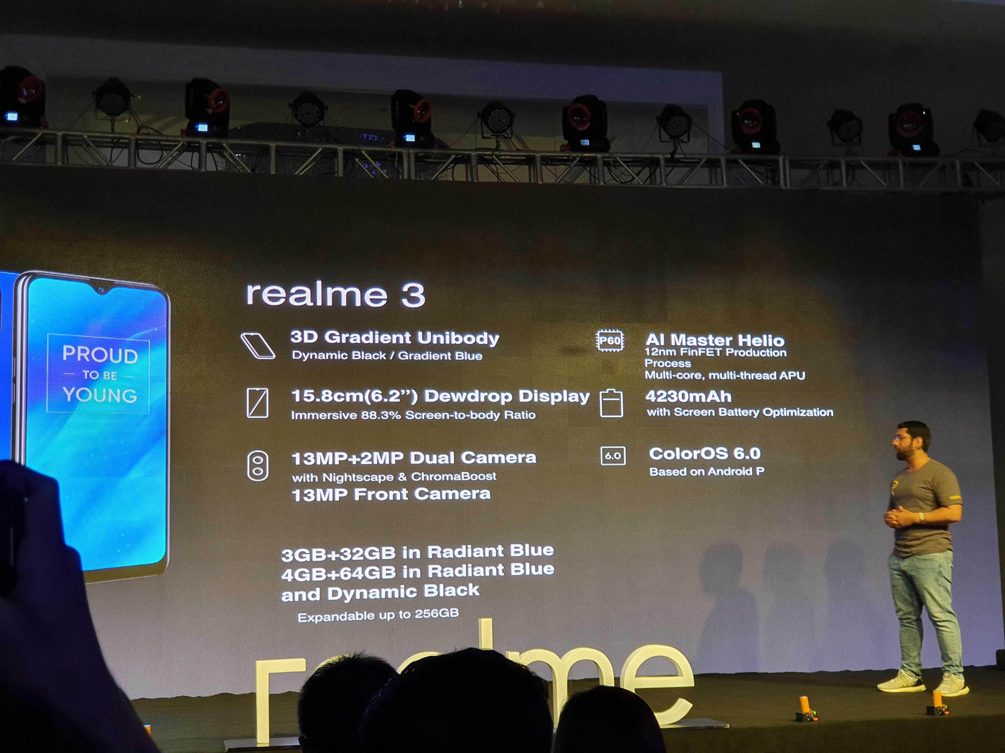 Realme 3 Launch Event