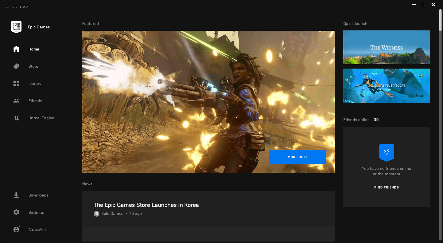 Epic Games Store on Linux
