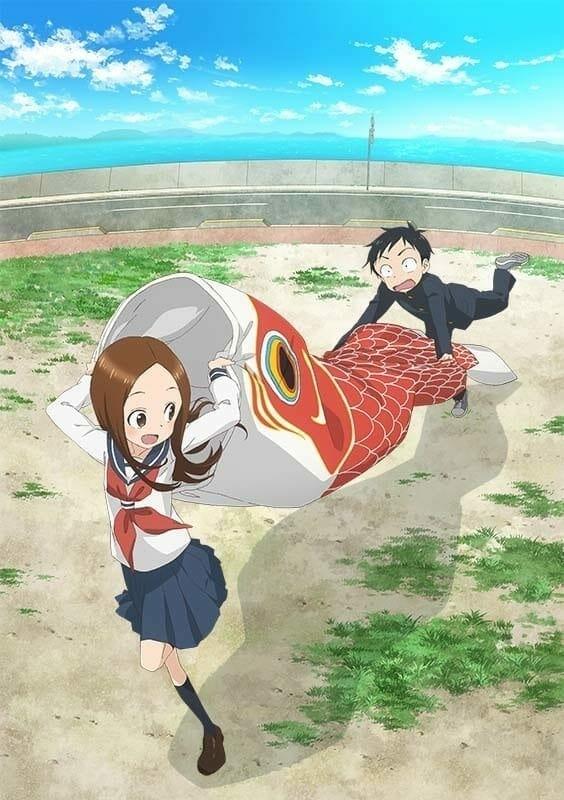 Karakai Jouzu no Takagi-san season 2 TV anime key visual