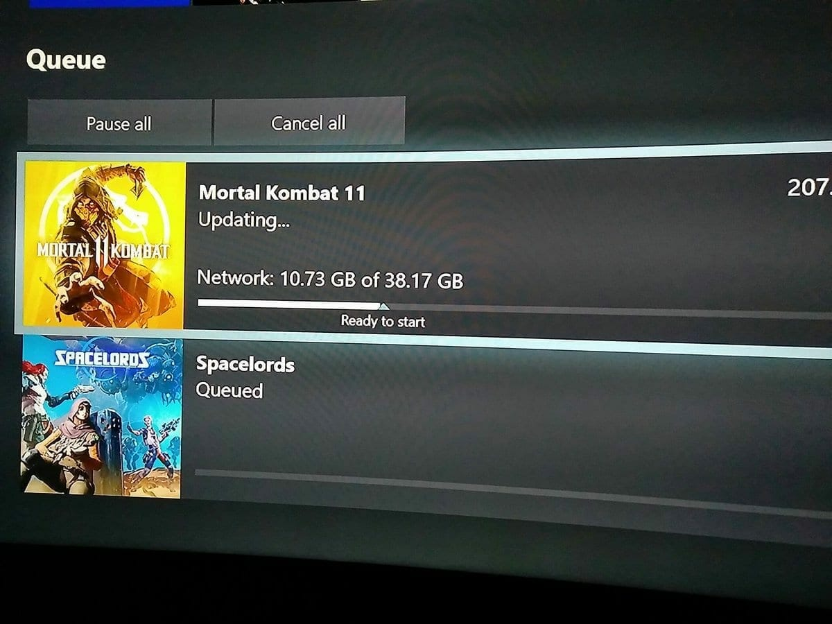 Mortal Kombat 11 Size Revealed as Xbox Preload goes live