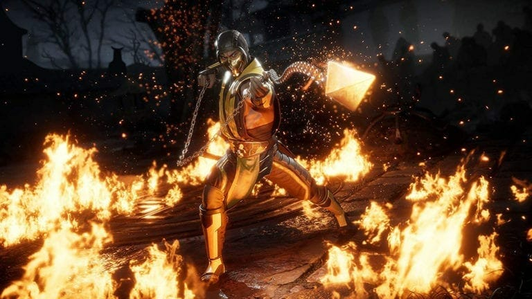Mortal Kombat 11 Crash