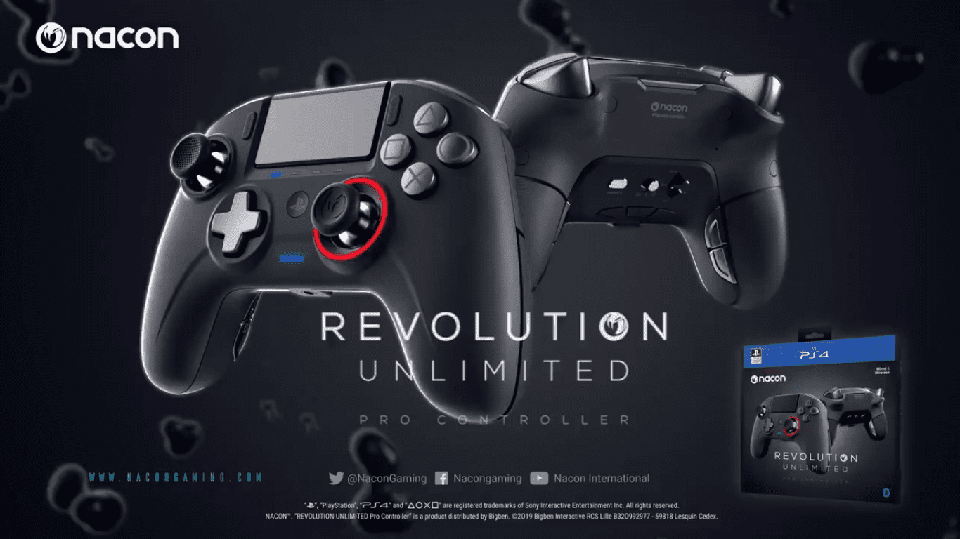 PlayStation 4 Nacon Controller New Version Announced with