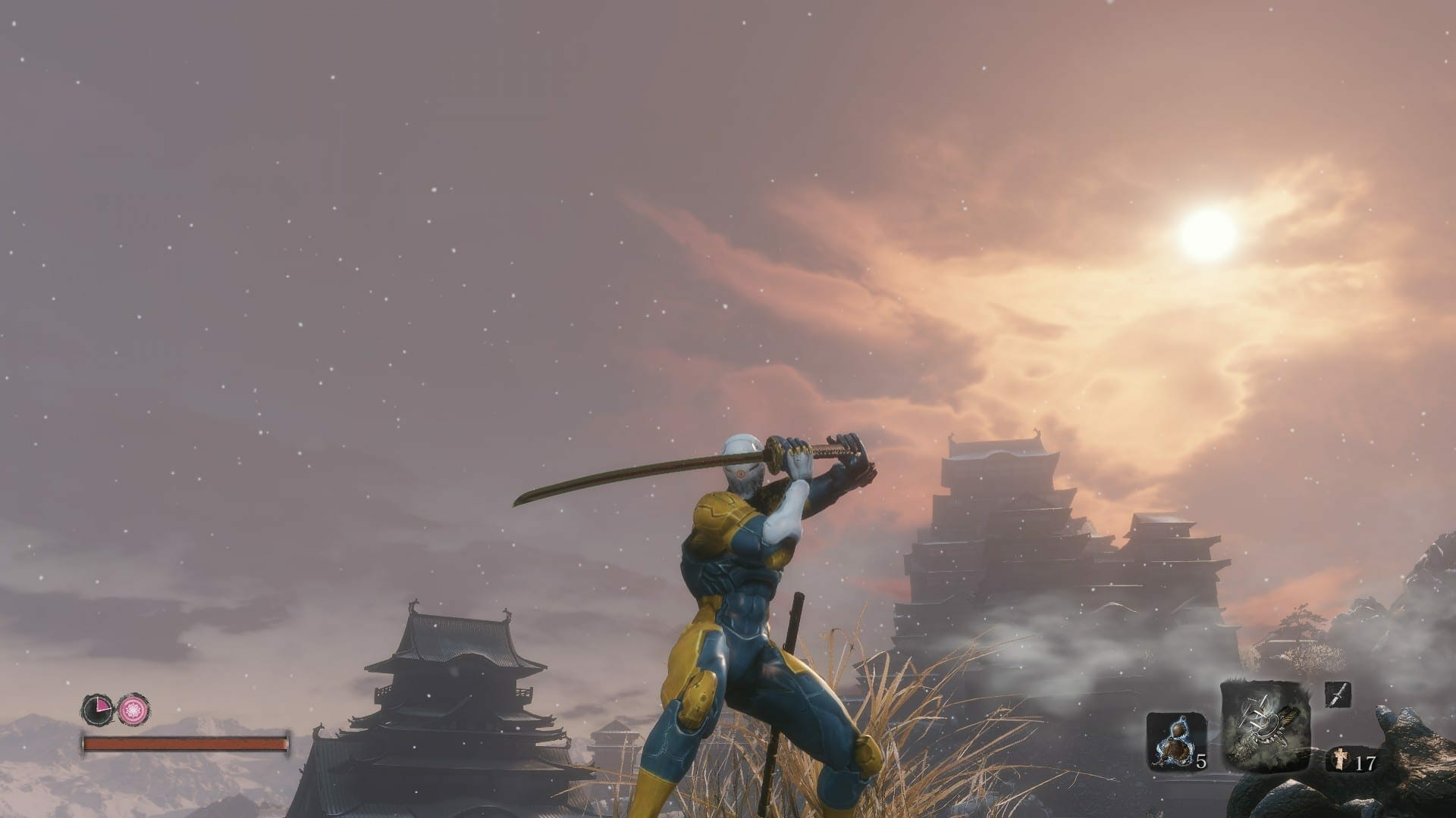 Gray Fox Mod For Sekiro