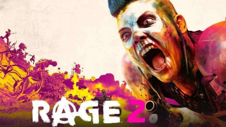 Rage 2 Crash Error