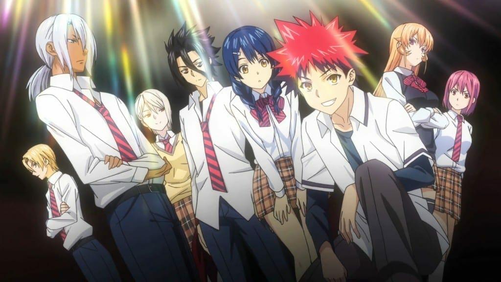 Дата выхода аниме В поисках божественного рецепта 4 сезон - Shokugeki no Soma: Shin no Sara
