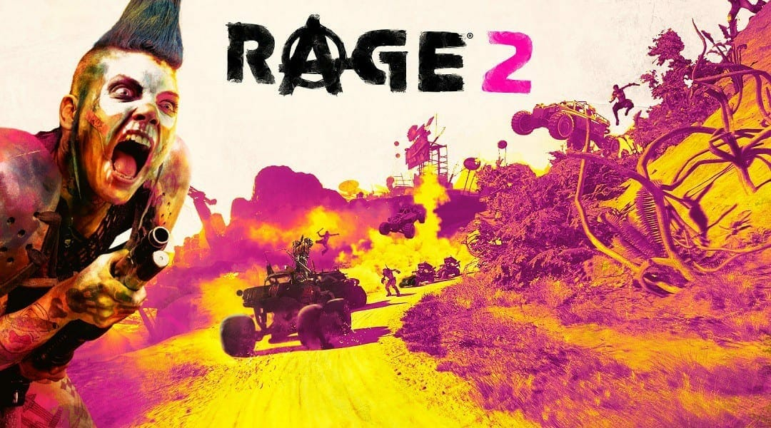 Rage 2 blurry graphics