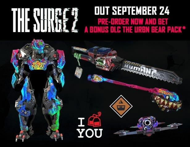 The Surge 2 Pre-Order Bonus