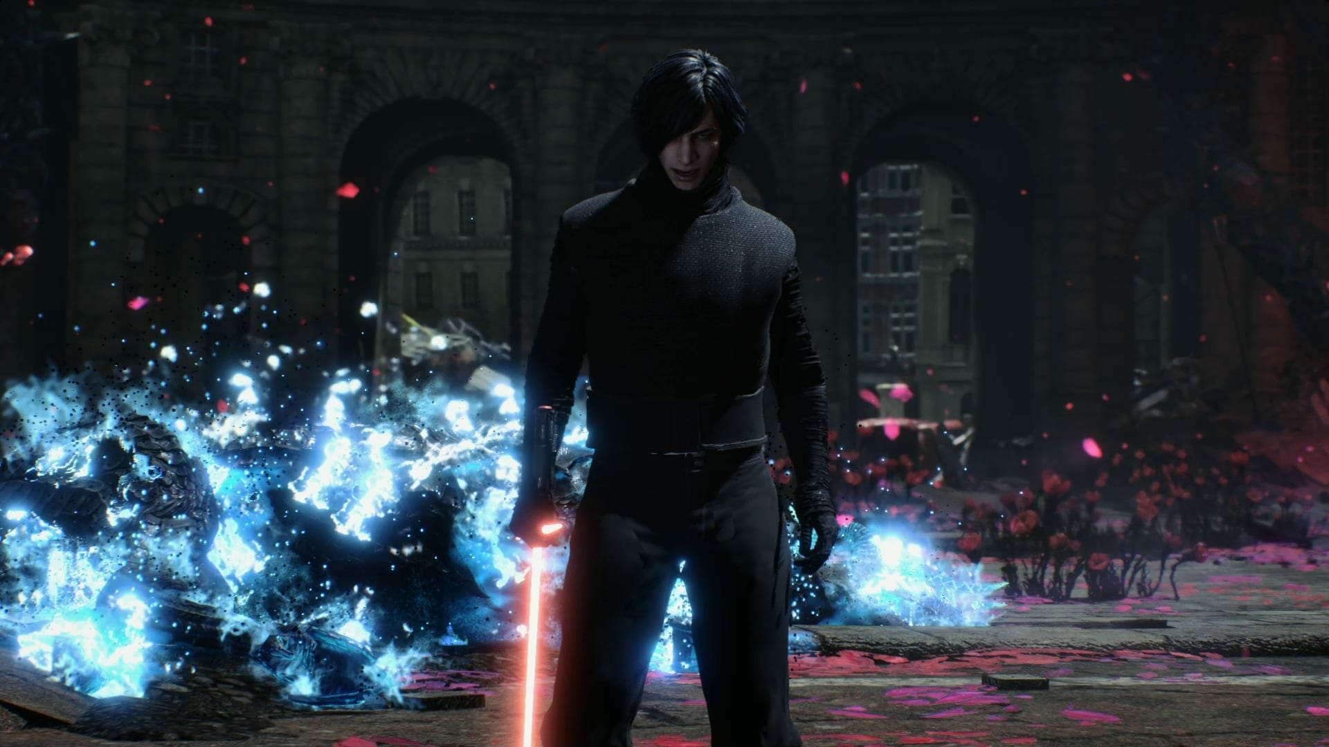Devil May Cry 5 Mod Play As Kylo Ren From Star Wars