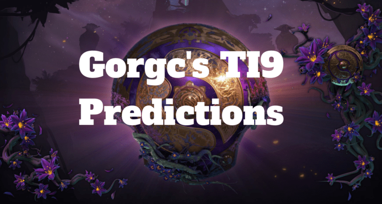 The International 2019 predictions by Gorgc
