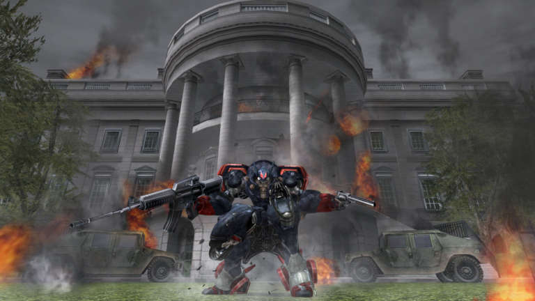 Metal Wolf Chaos XD Borderless