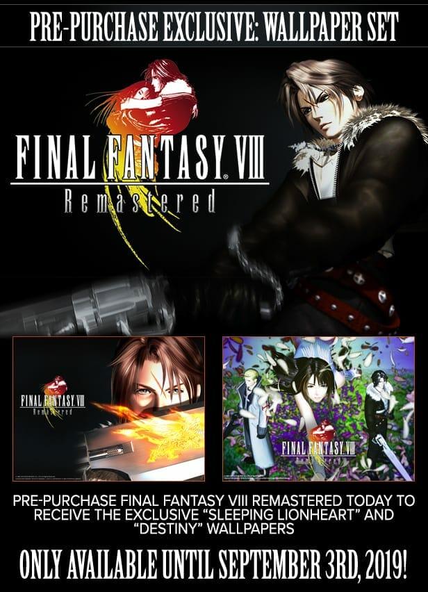 Final Fantasy VIII Pre-order Bonus