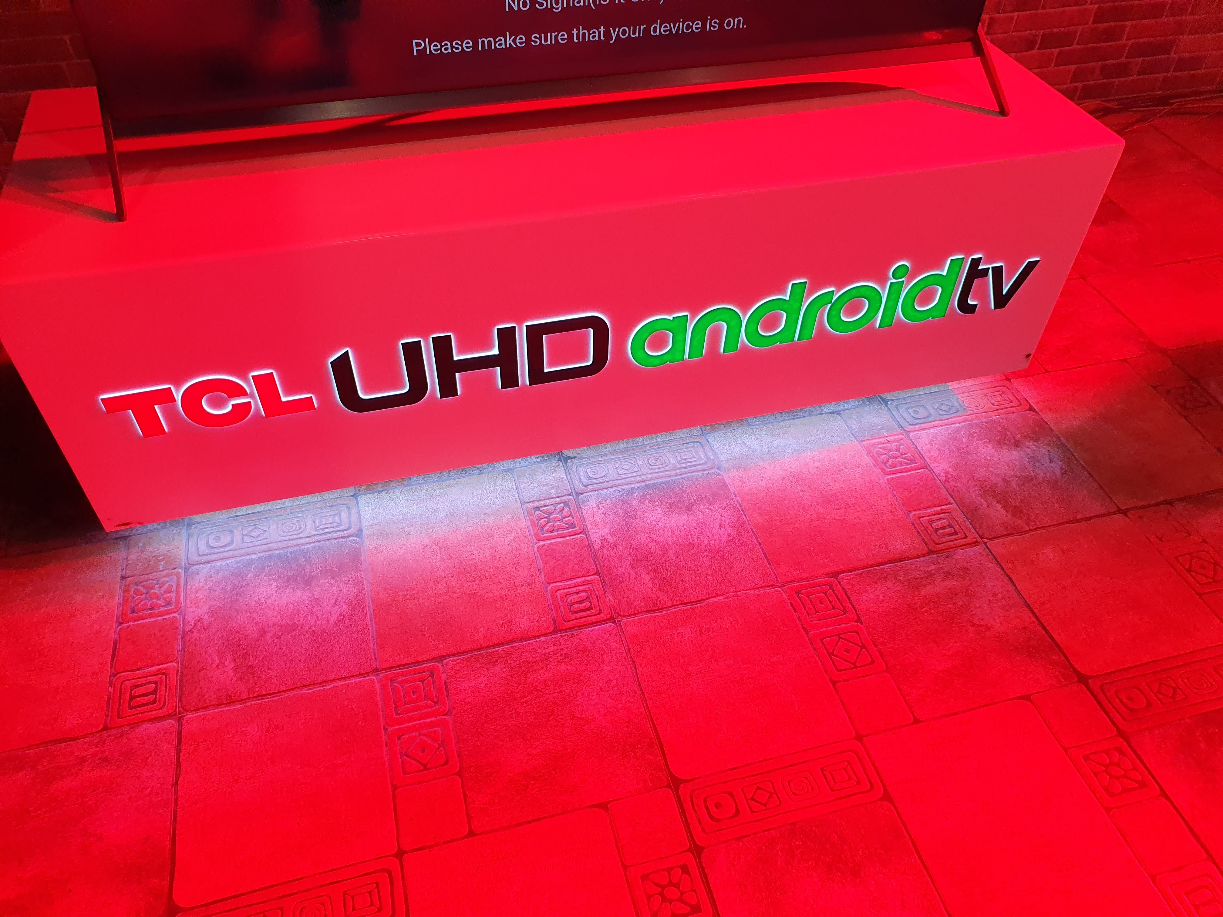 TCL P8S 4k UDH TV with Android