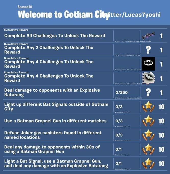 Batman Fortnite Challenges - Rumor: Epic Store Exclusive New Batman Game Hinted by Fortnite Update Patch Notes