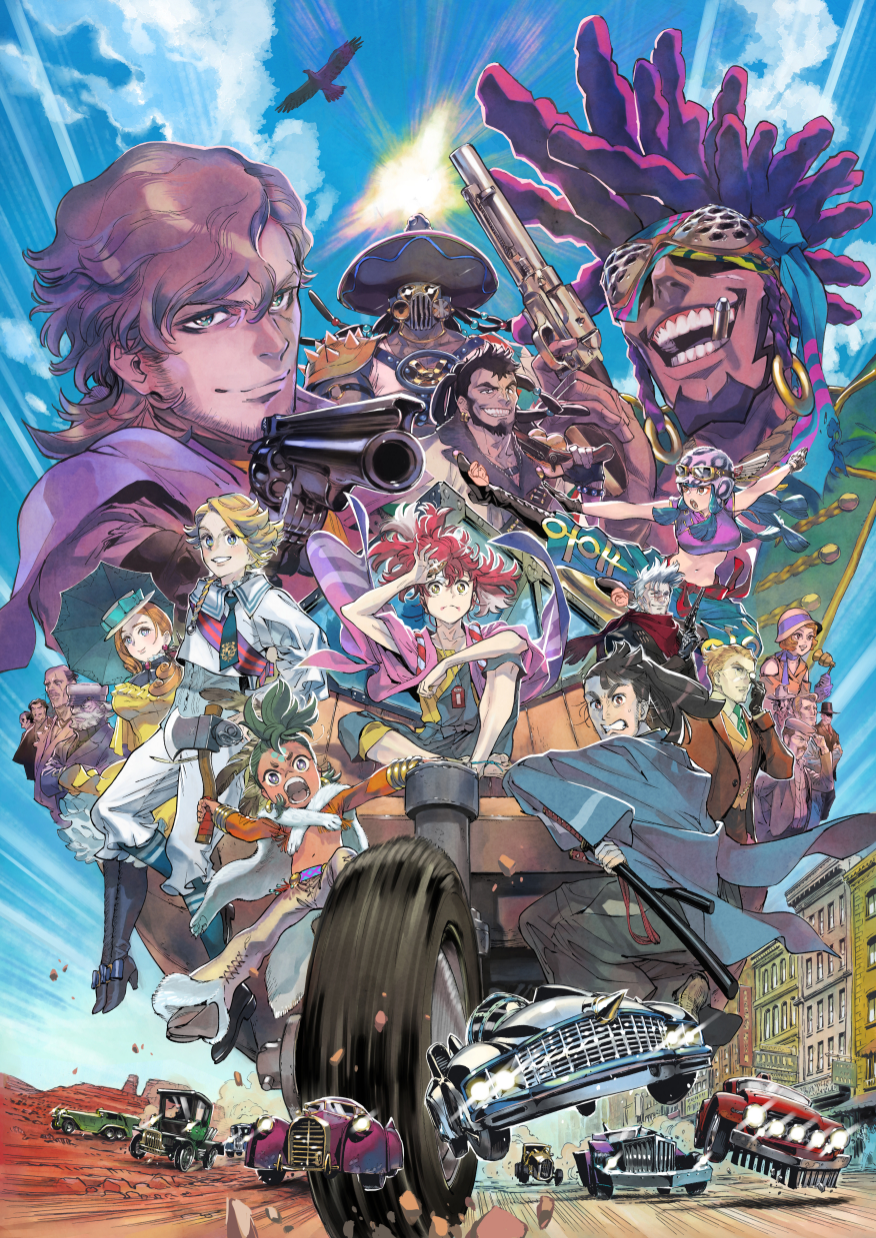 Appare-Ranman anime key visual