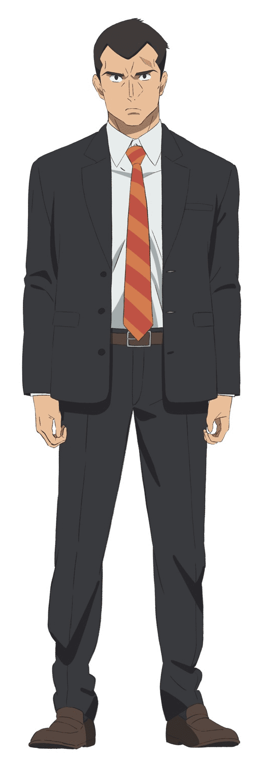 In/Spectre anime character design
