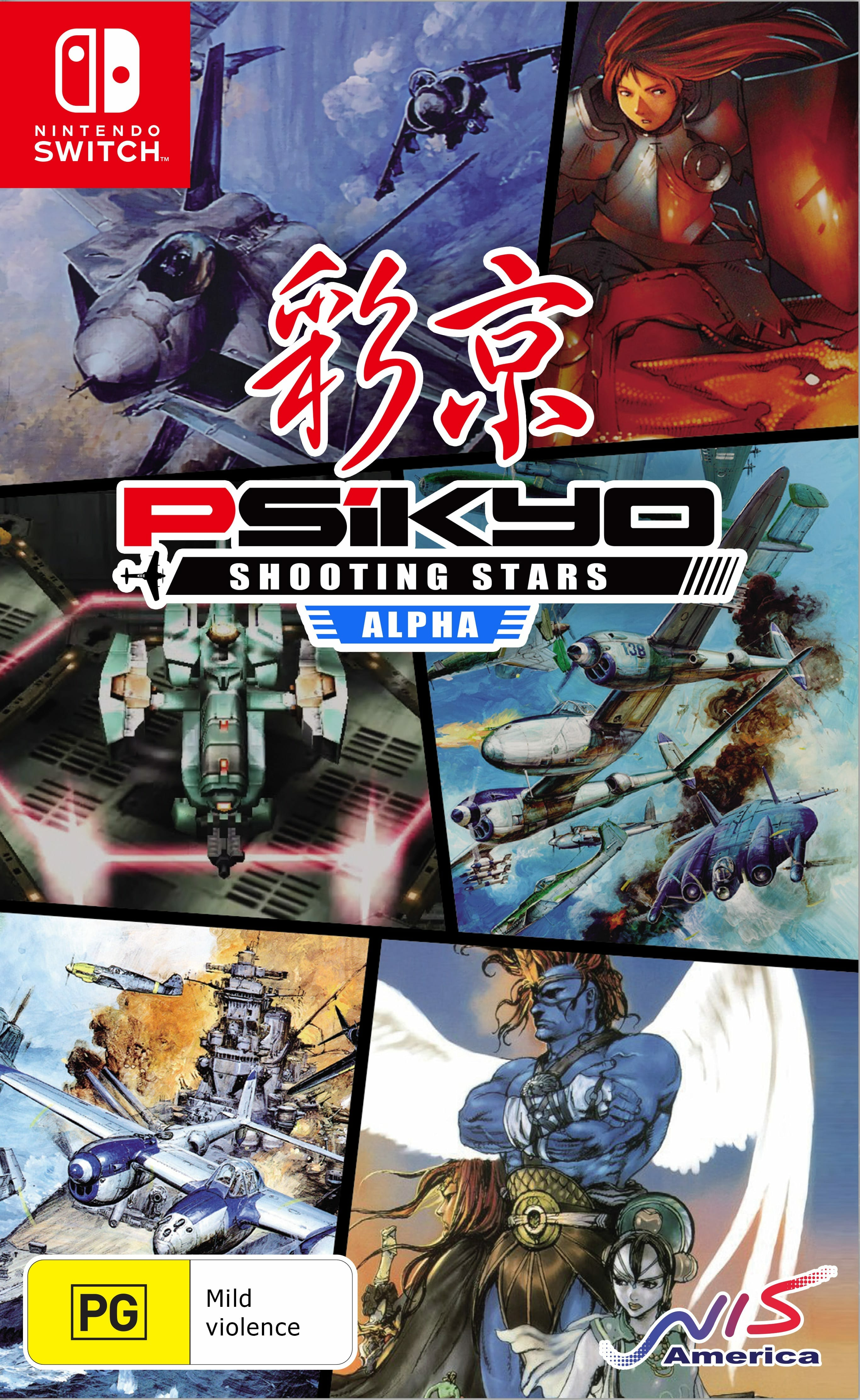Psikyo Shooting Stars Alpha 2 - Psikyo Shooting Stars Alpha and Bravo Release Dates Announced
