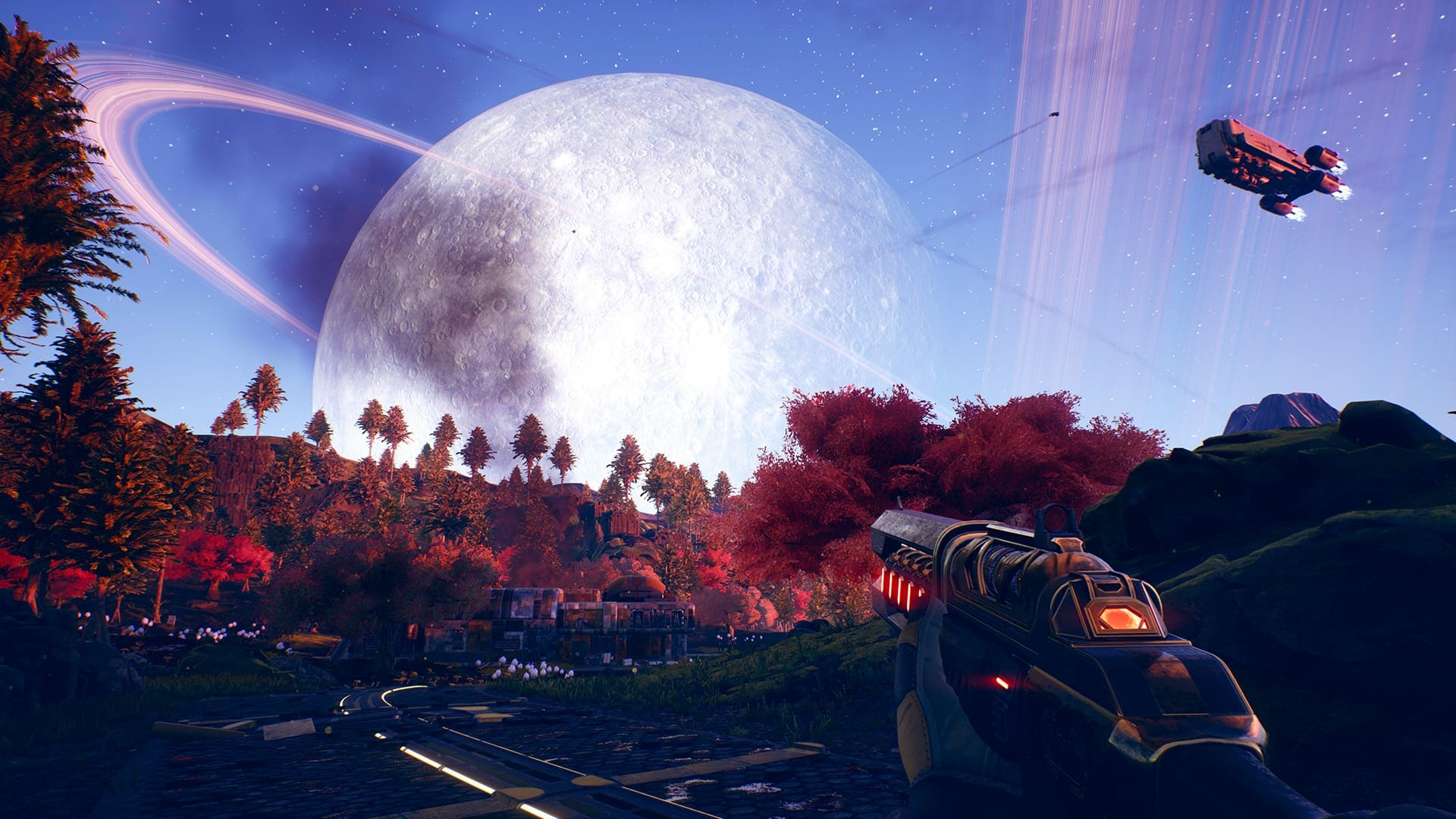 Chromatic Aberration in The Outer Worlds