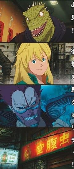 dorohedoro anime character design