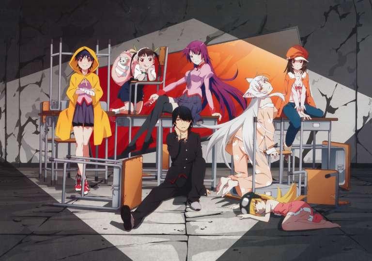 Monogatari anime series