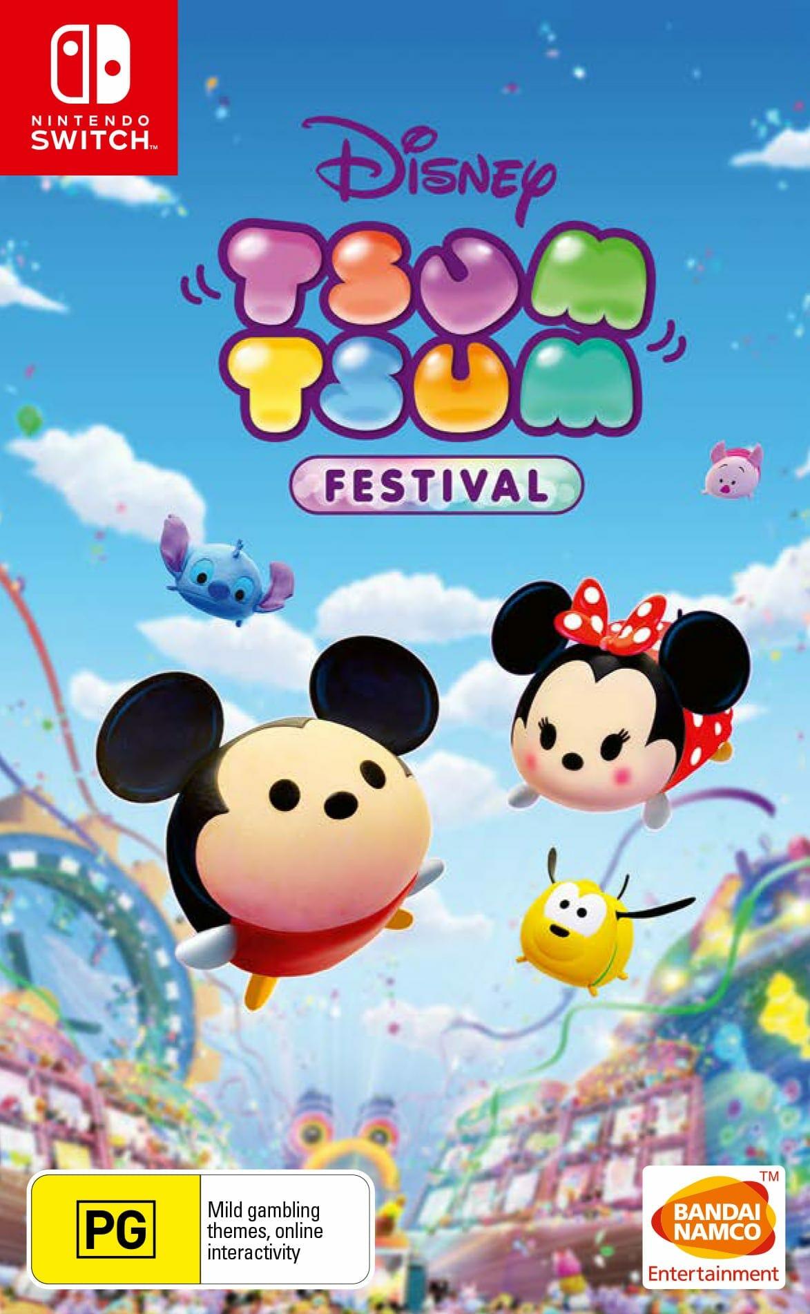 Box Art - Disney Tsum Tsum Festival Now Available for Nintendo Switch