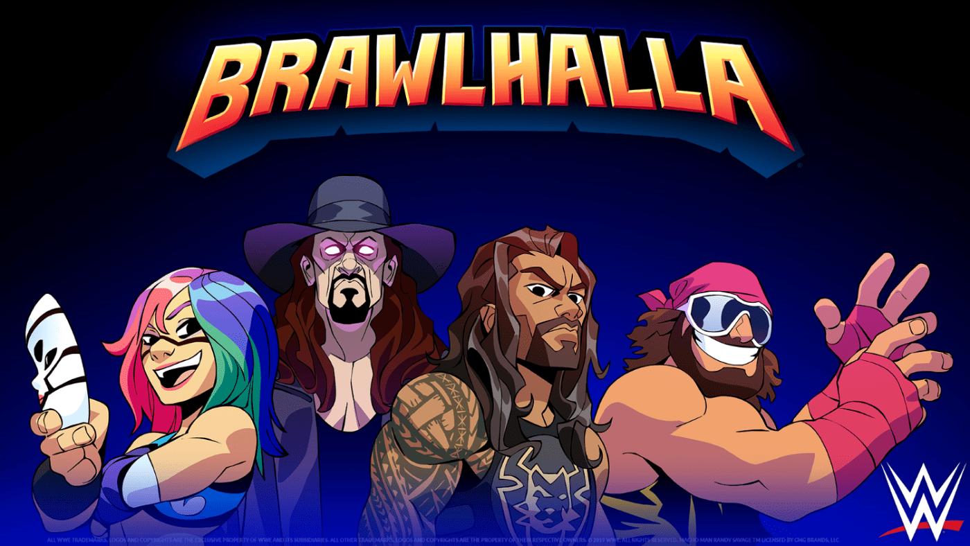 WWE Stars join Brawlhalla