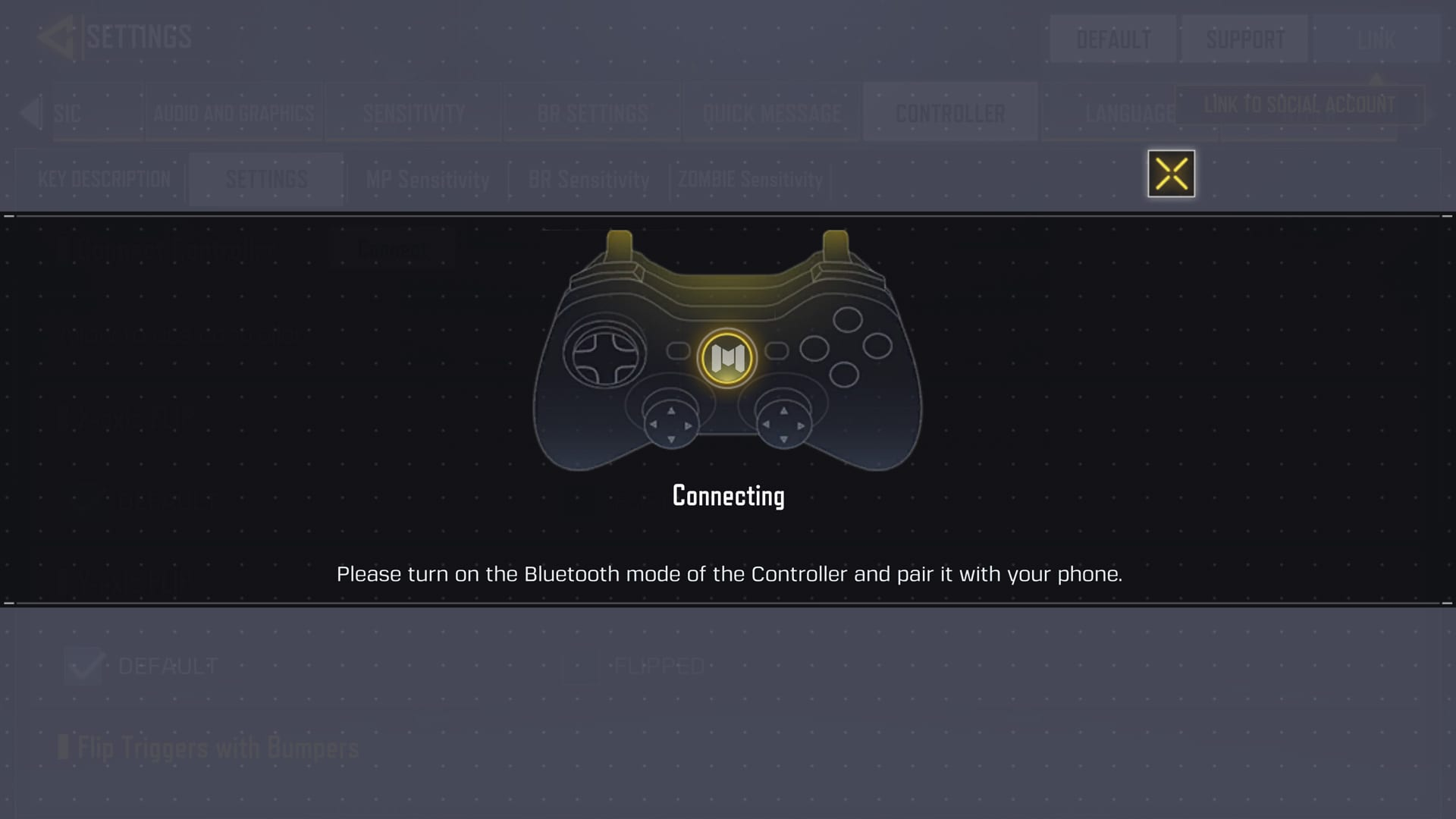 Controller Connecting - How to connect Controller with COD Mobile (Dualshock and Xbox)