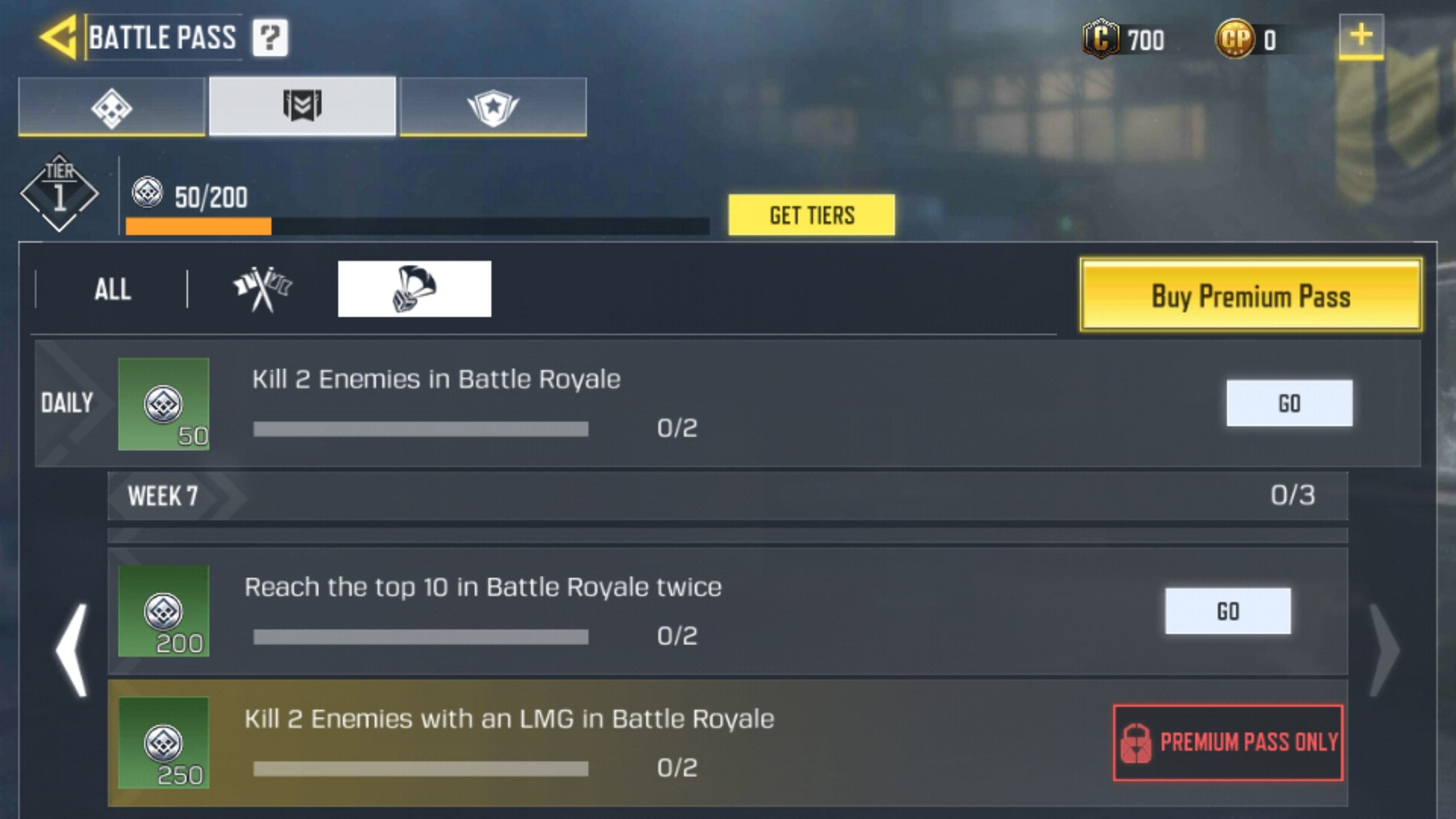 Week 7 BR Challenges 1 - COD Mobile Season 1 Week 7 Challenges for MP and Battle Royale