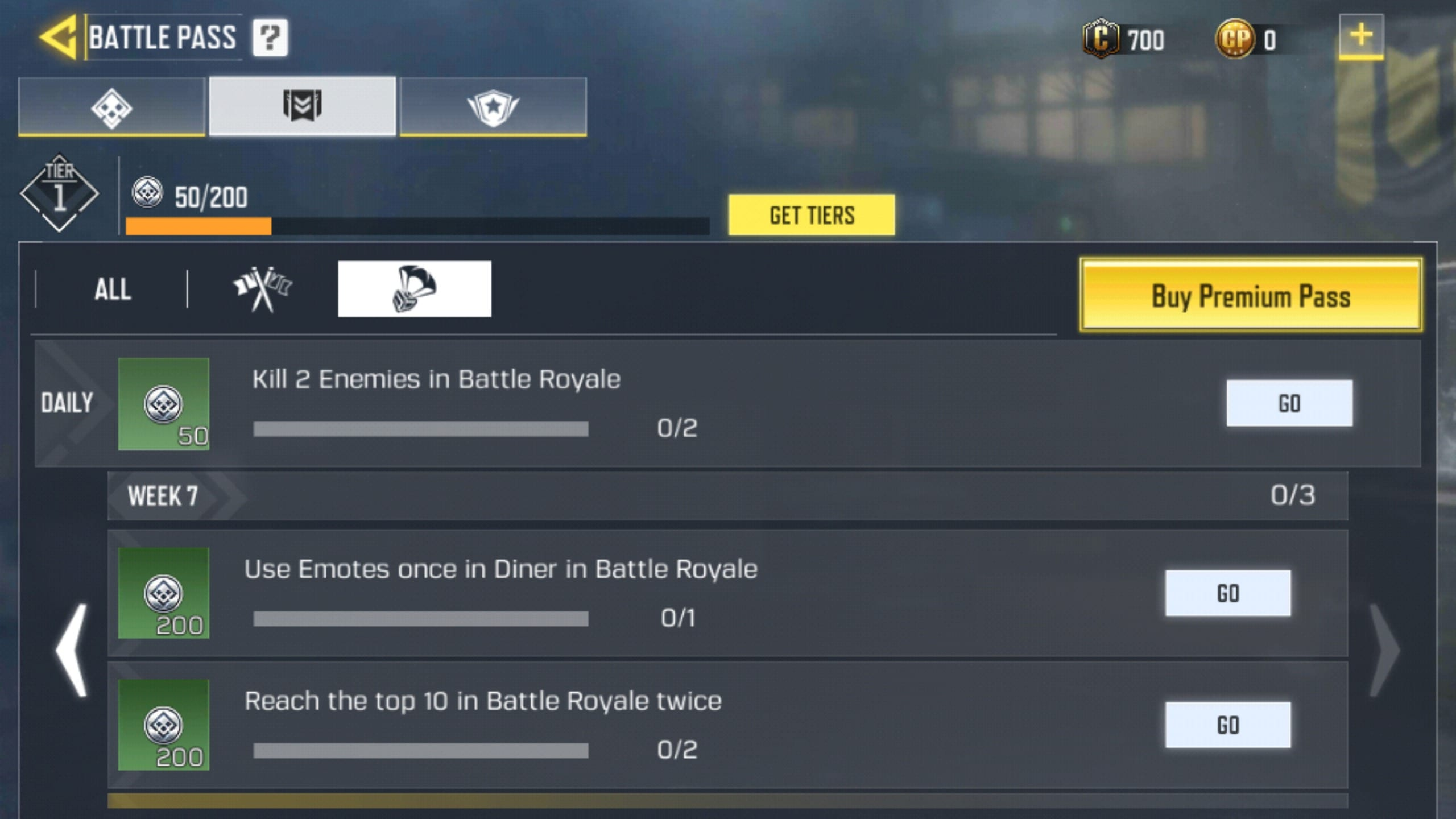 Week 7 BR Challenges 2 - COD Mobile Season 1 Week 7 Challenges for MP and Battle Royale