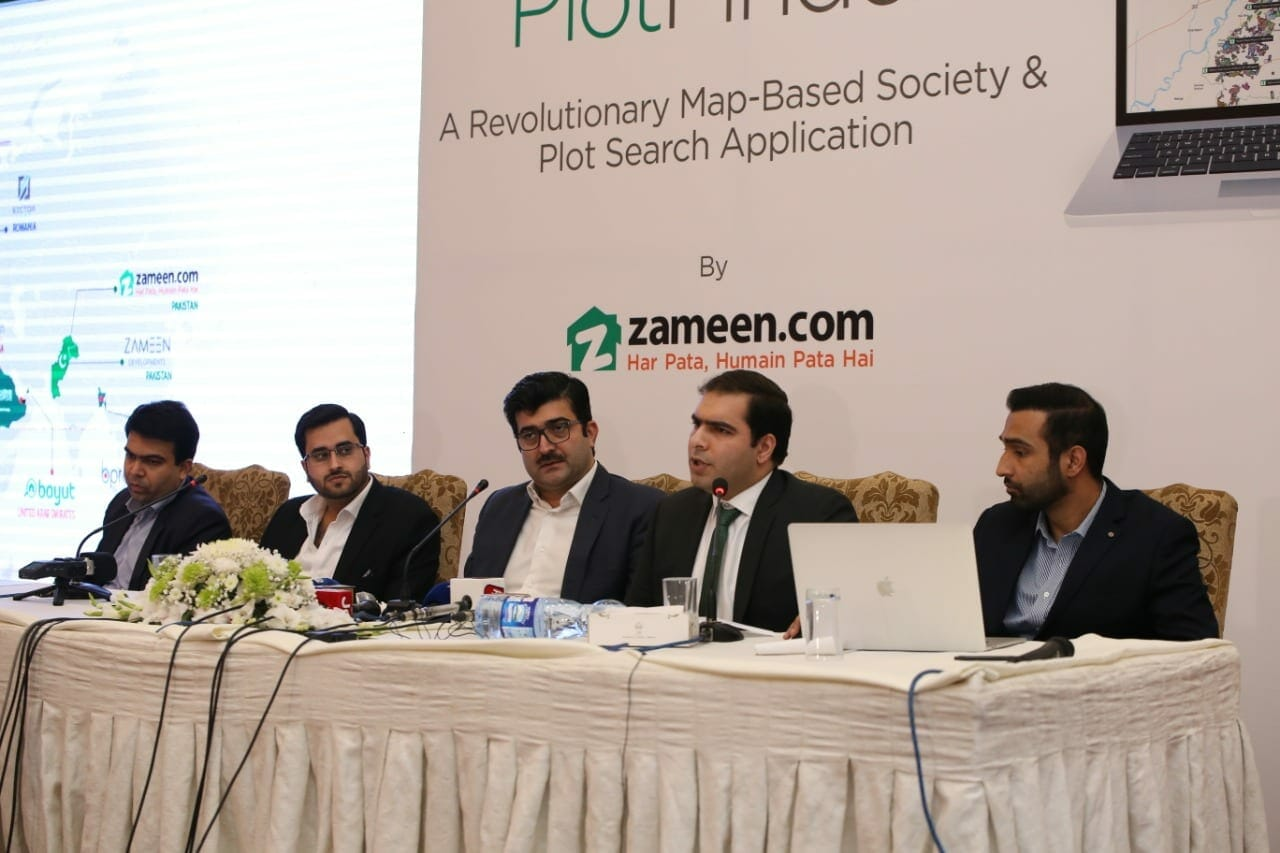Zameen 1 - Zameen.com launches new Plot Finder tool to Facilitate Online Plot Searching