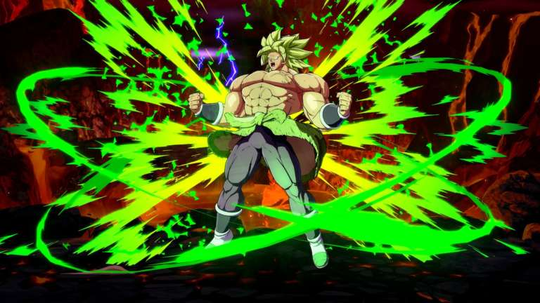 Broly joins DRAGON BALL FighterZ!