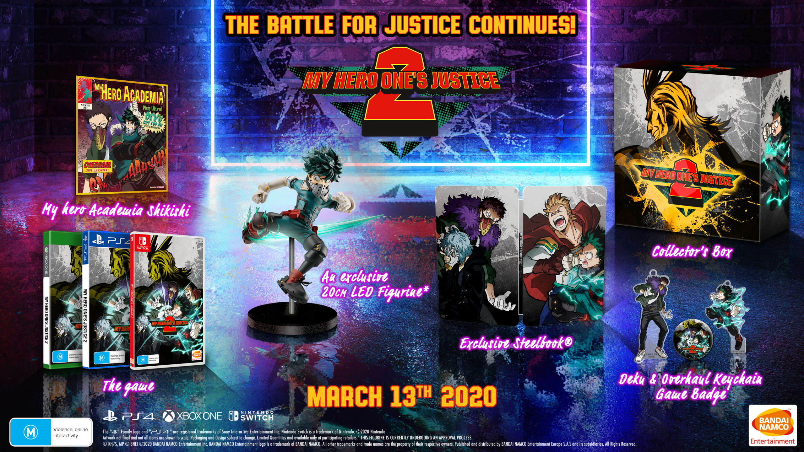 My Hero One's Justice 2 Release Date